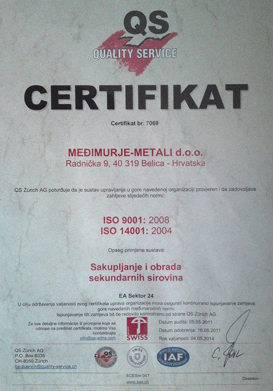 Međimurje Metali Medjimurje